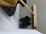 Besengarderobe - Platz für Schuhe