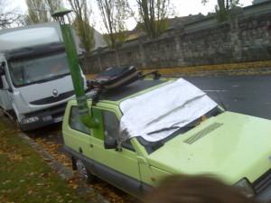 Wohnwagen Wohnauto