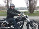 Harley Davidson Breakout Testfahrt