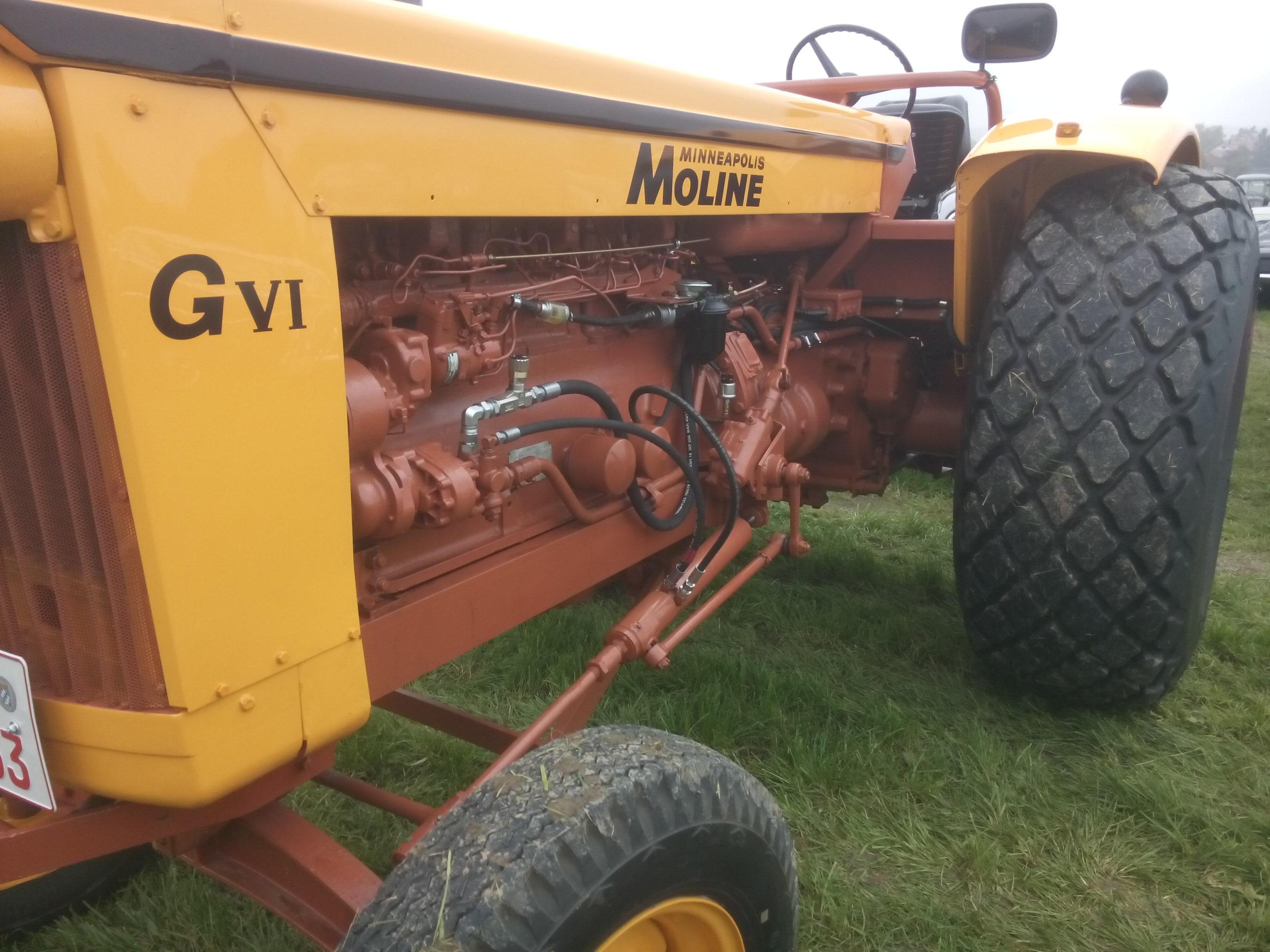 Alter US Traktor und Landmaschinen beim Oldtimertreff in Jesenwang