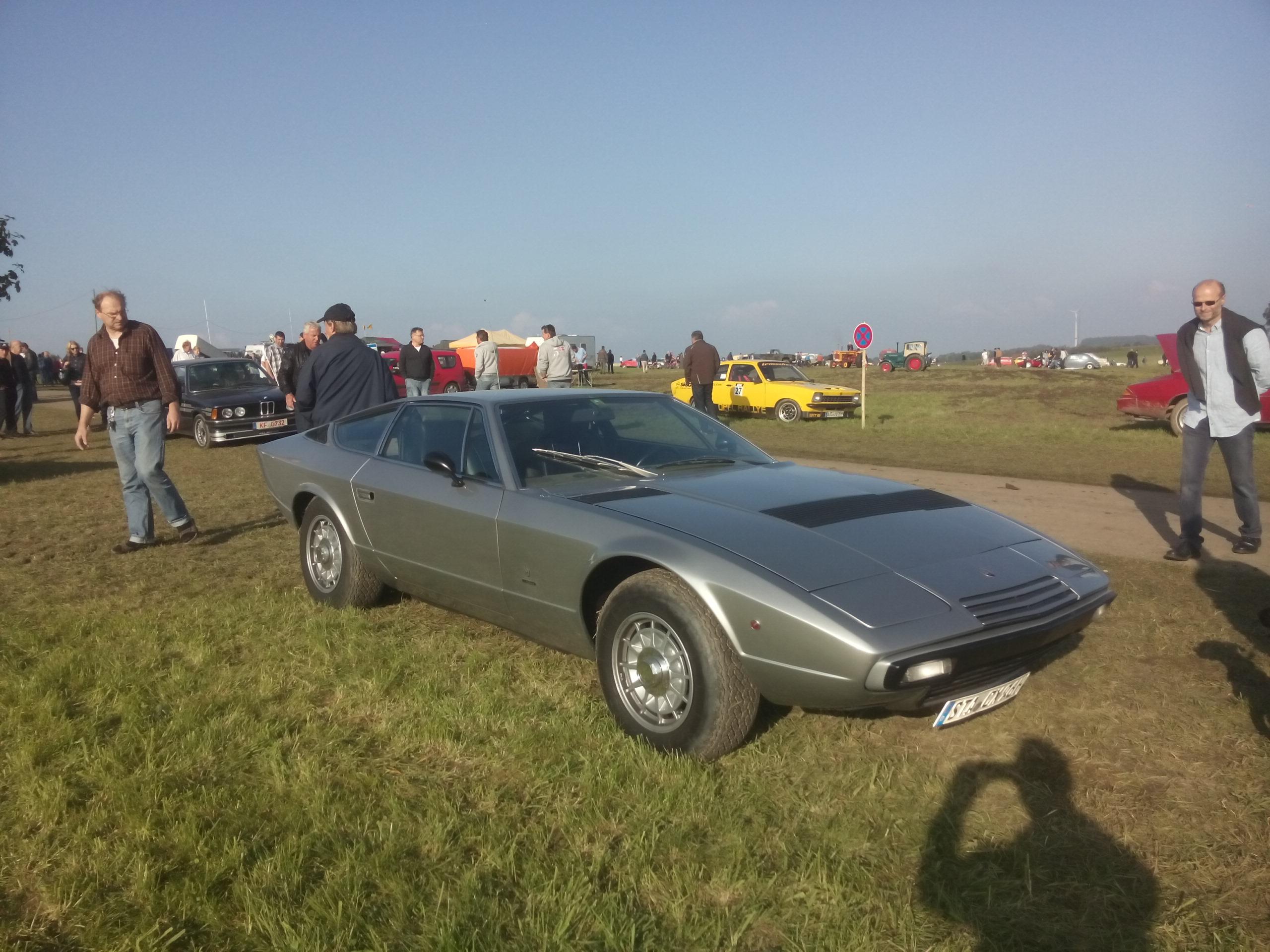 Eleganz, Technik und Kraft - Maserati schon in den 1970er JAhren