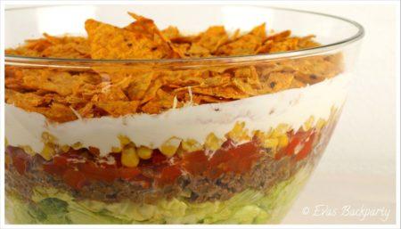 taco salat, so einfach das ihn sogar männer machen können