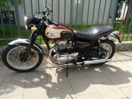 Kawasaki W650, Retro Design