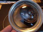 Karbid Lampenglas fixiert