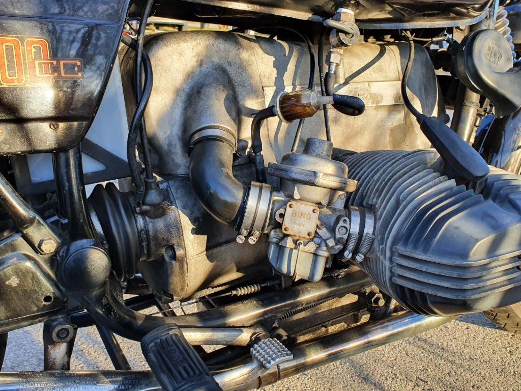 BING Vergaser an BMW R100/7