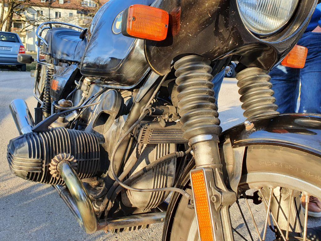 BMW 1000 CC Faltbalg