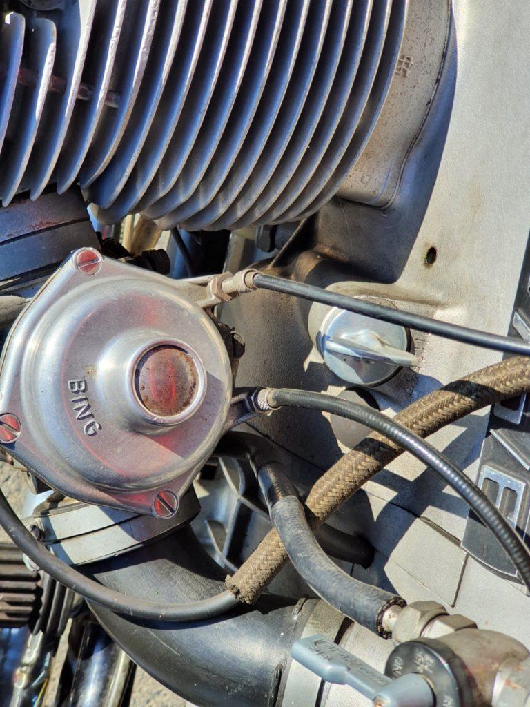 BMW R75/6 Unterdruckvergaser